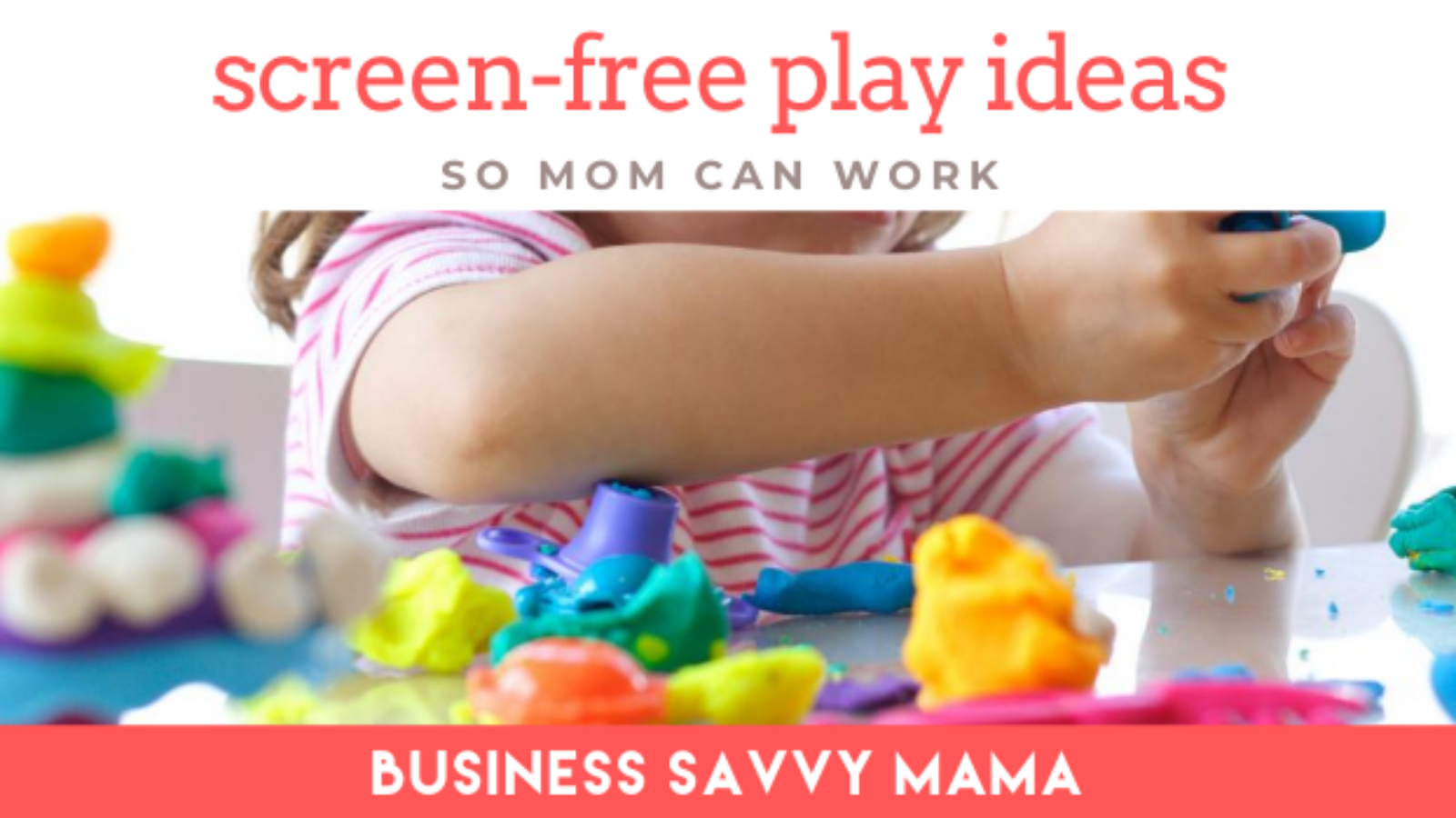 Screen-free play ideas