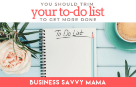 TRIM you to-do list to get more done