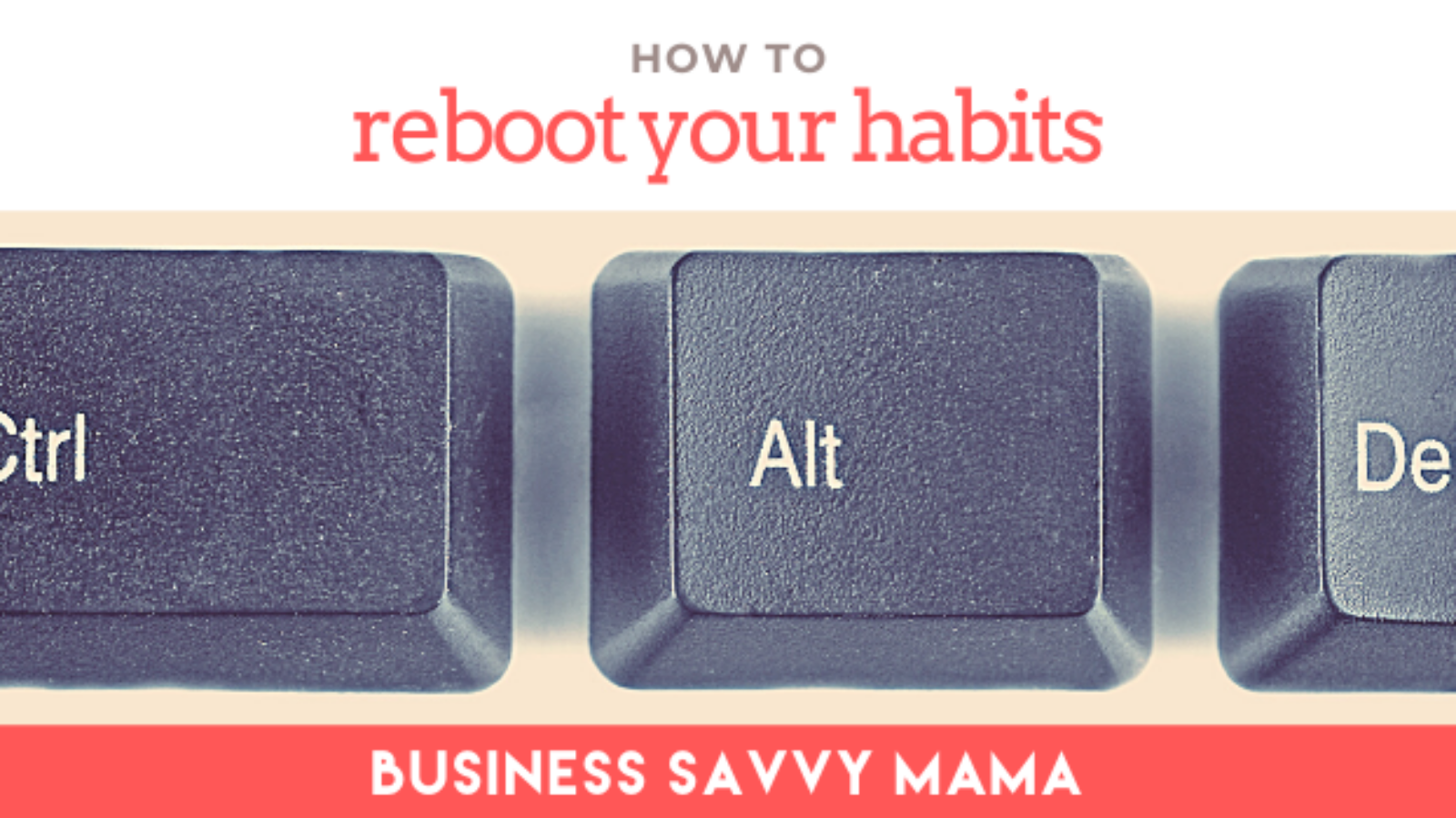 Reboot Your Habits - Business Savvy Mama Podcast