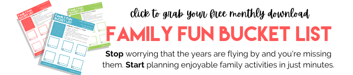 Family Fun Bucket List - Business Savvy Mama