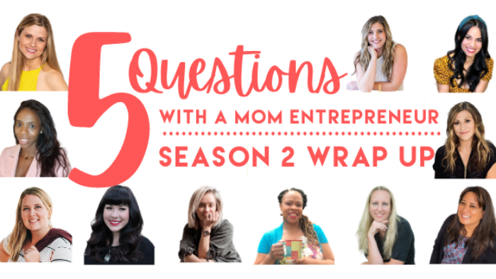 5 Questions with a Mom Entrepreneur - Business Savvy Mama Podcast